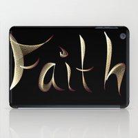 faith iPad Cases featuring Faith by Tina Vaughn