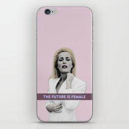 Pop Art Gillian Anderson iPhone Skin