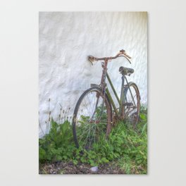 Old time bicycle, Ireland Canvas Print