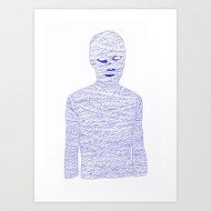 Mummy Art Print