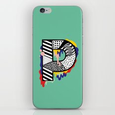 P for ... iPhone Skin