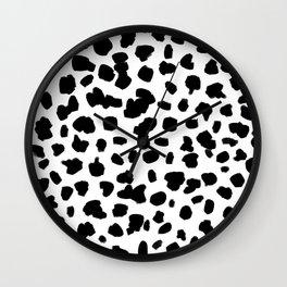 Dalmation Spots Wall Clock