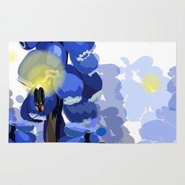 Grape Hyacinth Rug