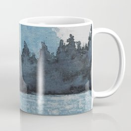 Moonlit Lake Coffee Mug