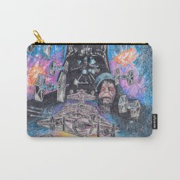 'The Empire Strikes Back' montage - Drawing in colour pencil Carry-All Pouch