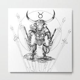 Minos Metal Print
