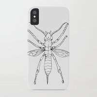 insect iPhone & iPod Cases featuring Insect by Martin Stolpe Margenberg
