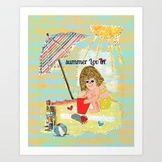Summer Lov'in Art Print
