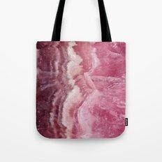 Rosey Rose Quartz Crystal Tote Bag