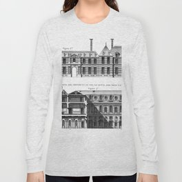 Palais-Royal on the rue St. Honoré 1754 Long Sleeve T-shirt