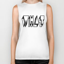 WHAT is this everywhere Biker Tank
