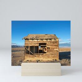 Desert Shack Mini Art Print
