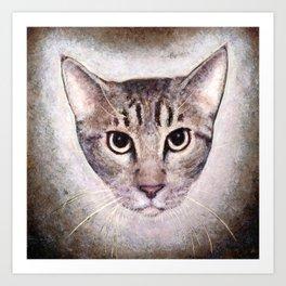 Cat #2 (Sid) Art Print