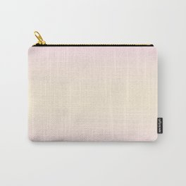 Pink Lace to Cream Yellow Bilinear Gradient Carry-All Pouch
