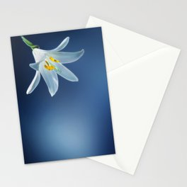 flower lilium 4 Stationery Cards