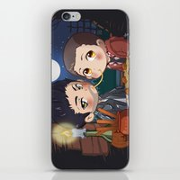clueless iPhone & iPod Skins featuring The Stiles&TheTramp by MGNemesi