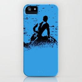 Blue Waters - Jet Ski Fun iPhone Case