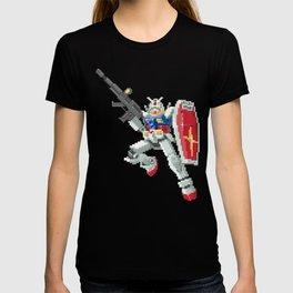 8-bit Gundam T-shirt