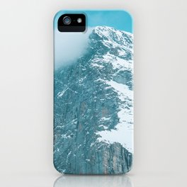 Blue power iPhone Case