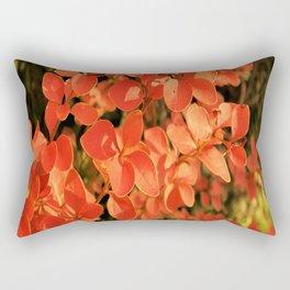red autumn Rectangular Pillow