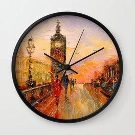 London evening Wall Clock