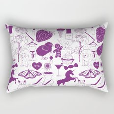 Sugar and spice and everything nice. Rectangular Pillow