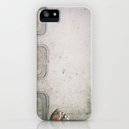 Three Water Sewers iPhone Case
