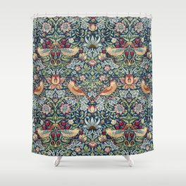 Strawberry Thief by William Morris  Shower Curtain