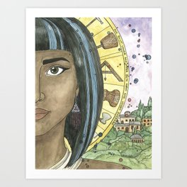 Sheerah Art Print