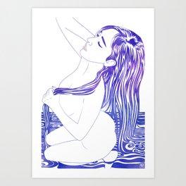 Water Nymph XVIII Art Print