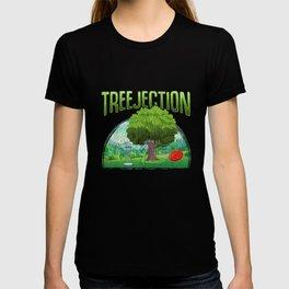 Funny Disc Golf Humor Tree Fun T-shirt