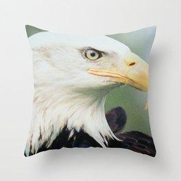 THE EAGLE EYE Throw Pillow