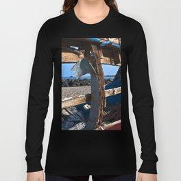 OLD WRECK of GIARDINI NAXOS at SICILY - SICILIA BEDDA Long Sleeve T-shirt