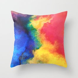 Abstract Background Art Design Throw Pillow