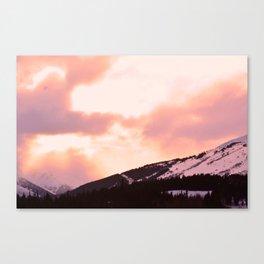 Rose Quartz Turbulence - II Canvas Print