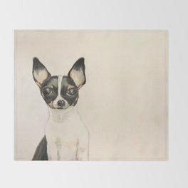 Chihuahua - the tiny dog Throw Blanket