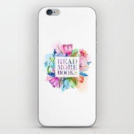 Read More Books Pastel iPhone Skin