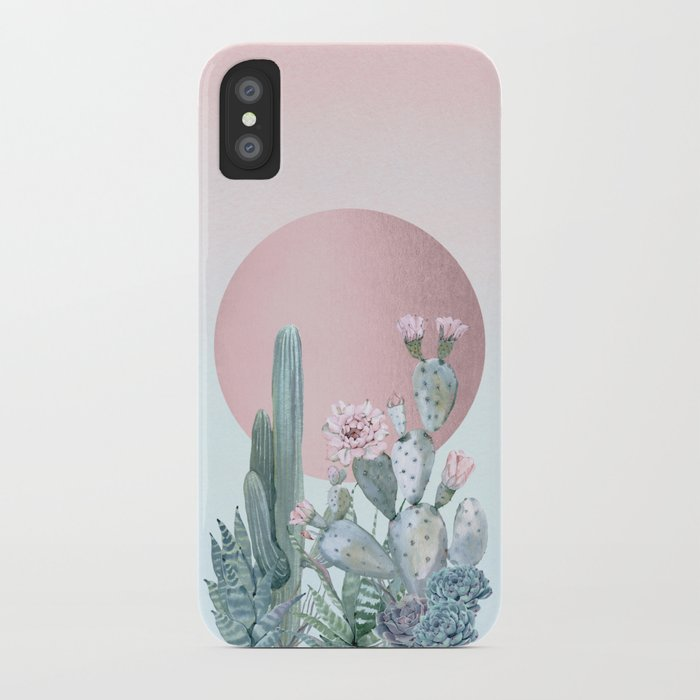 desert sunset by nature magick iphone case