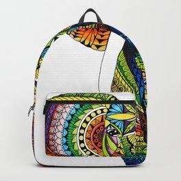 Rainbow Elephant Backpack