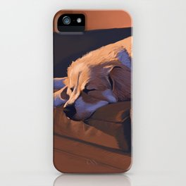 Couch Hog iPhone Case