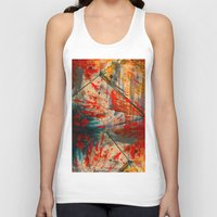 runner Tank Tops featuring Kite Runner by CMYKulaga