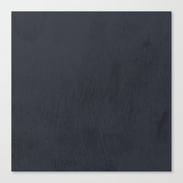 Textured Navy Canvas Print