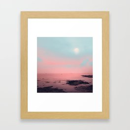 MISTY PINK Framed Art Print