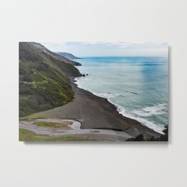 Usal Beach Metal Print