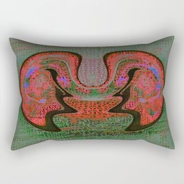 Mask Rectangular Pillow