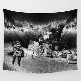 Moon Landing Wall Tapestry