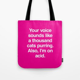 A Thousand Cats Tote Bag