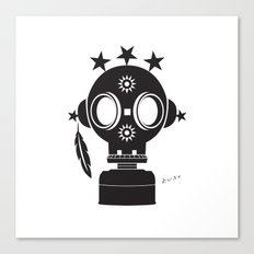 Post World Zuno : Gas Mask 02 Canvas Print