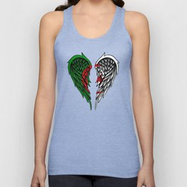 Algerian wings art Unisex Tank Top