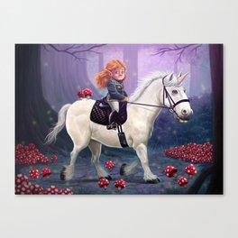 Mushroom Princess Canvas Print